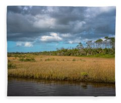 Spruce Creek Park Fleece Blanket