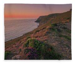 St Agnes Sunset Fleece Blanket