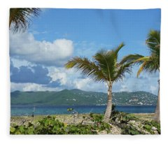 St. John View Fleece Blanket