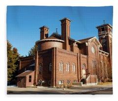 St. Leo Catholic Church Fleece Blanket