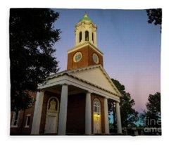 St. Paul's Church - Augusta Ga Fleece Blanket