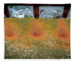 Stains Fleece Blanket