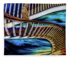 Stairway To Perdition Fleece Blanket