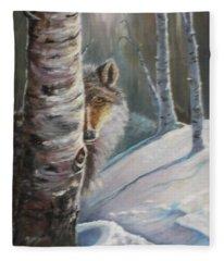 Stalking Fleece Blanket