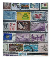 Stamp Page 1 Fleece Blanket