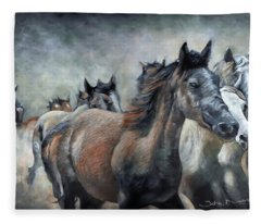 Stampede Fleece Blanket
