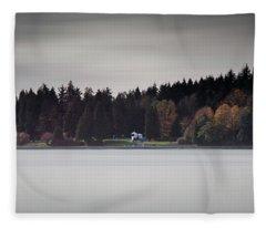 Stanley Park Vancouver Fleece Blanket