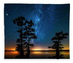 Star Gazers Fleece Blanket