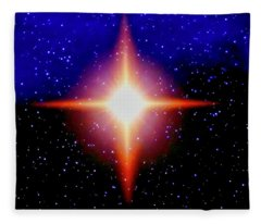 Star Of Christ Fleece Blanket