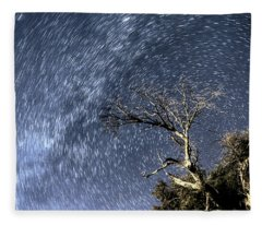 Star Trail Wonder Fleece Blanket