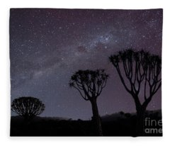 Stargazer  Fleece Blanket