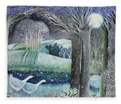 Starry River Fleece Blanket