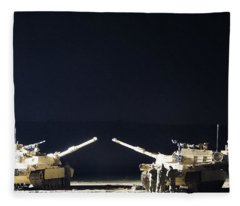 Stars Can Only Shine In Darkness Fleece Blanket