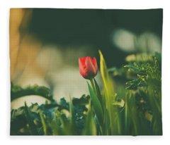 Start Of Spring Fleece Blanket