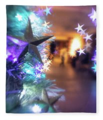 Stary Night 1 Fleece Blanket