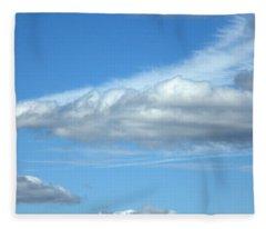 Stealth Fighter Fleece Blanket