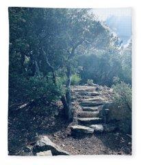 Steps To Enlightenment  Fleece Blanket
