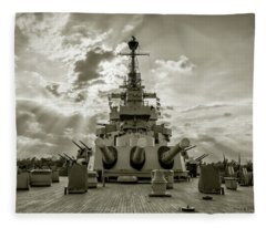 Stern Guns Fleece Blanket