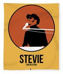 Stevie Wonder Fleece Blanket