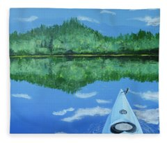 Still Reflective Fleece Blanket