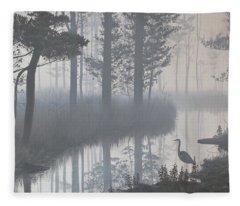 Still Waters Fleece Blanket