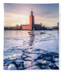 Sweden Fleece Blankets