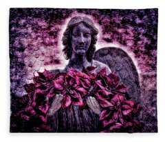 Stone Angel Fleece Blanket