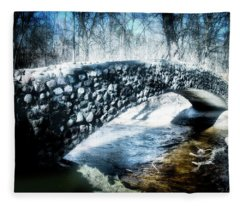 Stone Bridge Michigan Fleece Blanket