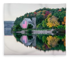 Stone Church Fleece Blanket