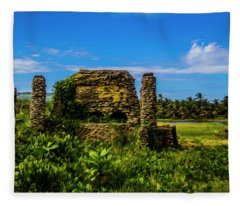 Stone Oven Fleece Blanket