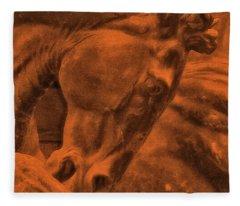 Stone Steed Reds Fleece Blanket