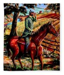 Stonewall Jackson Fleece Blanket