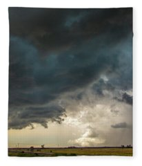 Storm Chasin In Nader Alley 012 Fleece Blanket
