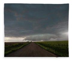 Storm Chasin In Nader Alley 025 Fleece Blanket