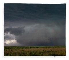 Storm Chasin In Nader Alley 030 Fleece Blanket