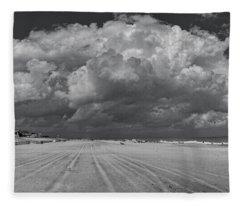 Storm Clouds Fleece Blanket