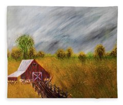 Storm Coming Fleece Blanket