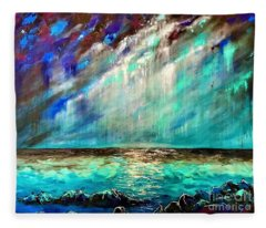 Stormy Weather  Fleece Blanket