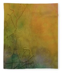 Strands Of Time Float Into The Mist Fleece Blanket