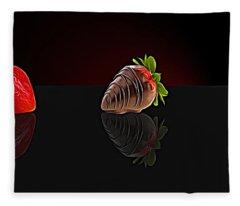 Strawberry Fleece Blanket