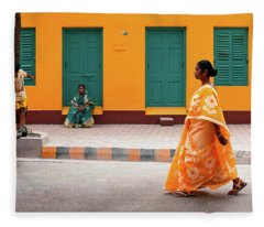 Street Palette Fleece Blanket