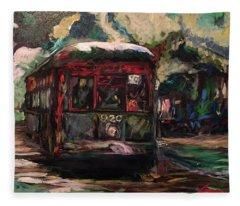 Streetcar  Fleece Blanket