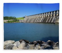 Strom Thurmond Dam - Clarks Hill Lake Ga Fleece Blanket