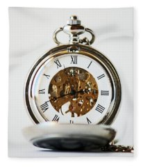 Studio. Pocketwatch. Fleece Blanket