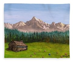 Stump Fleece Blanket