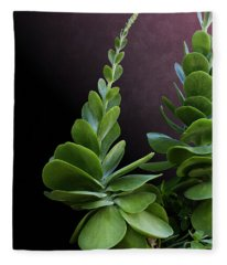 Succulent Spear Fleece Blanket