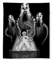 Sugar Babies A Dark Nursery Rhyme - Artwork Fleece Blanket
