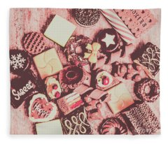 Sugar Sweet Assortment Fleece Blanket