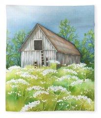 Summer Barn Fleece Blanket