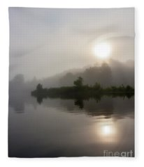 Summer Dawn Fleece Blanket